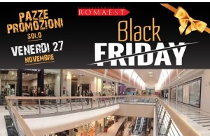 black friday 2015 italia a roma esta sconti fino al 70