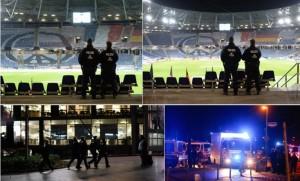 hannover ore di paura allerta terrorismo dallo stadio alla stazione ma anche metropolitane ed una sala da concerto