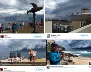 sydney nuvole nere incredibili spiaggia 6 novembre 2015