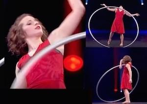 vincitore di tu si que vales 2 acrobata Angelica Bongiovonni finale senza televoto