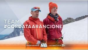 Jane Alexander con Roberto Rossi eliminati abbandonano monte bianco reality
