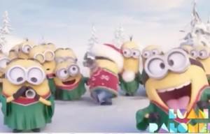 Auguri Di Natale Ridicoli.Auguri Di Natale Divertenti Ed Animati Arriva Il Video Minions