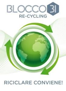 riciclare con blocco 31 con sconti