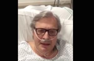 vittorio sgarbi salute video ospedale