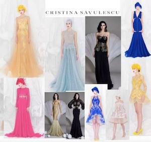 stilista sanremo 2016 Madalina Ghenea abiti Cristina Savulescu