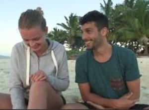 Mercedesz Hunger schicchi e Jonas Berami stanno insieme coppia amore isola dei famosi gossip