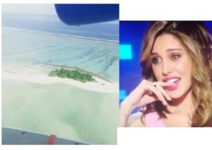 belen rodriguez niente isola dei famosi va alle maldive