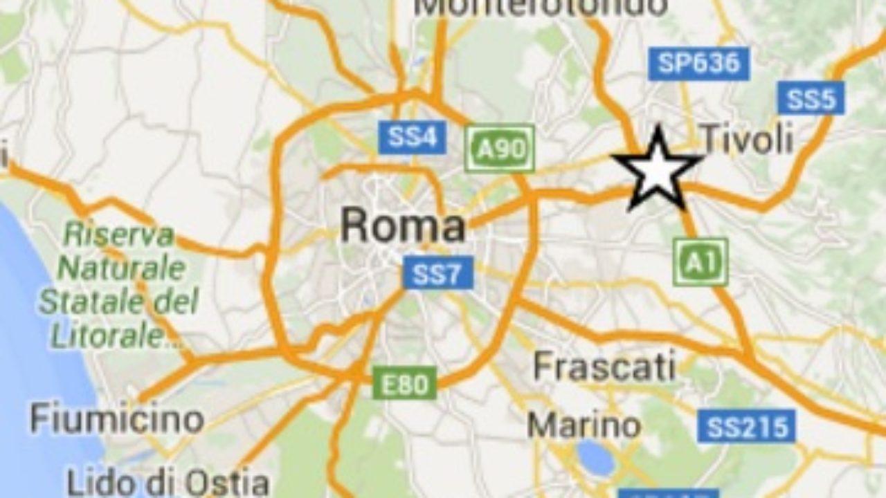 Terremoto Oggi a Roma: scosse e notizie Corcolle - NotizieWebLive.it