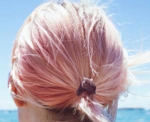capelli rosa fragola tendenza colori 2016 primavera