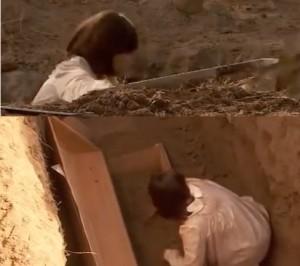 la tomba di gonzalo e vuota nella bara non c e gonzalo non e morto anticipazioni il segreto