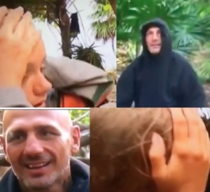 video giacobbe svene e colpisce in testa mercedesz isola dei famosi