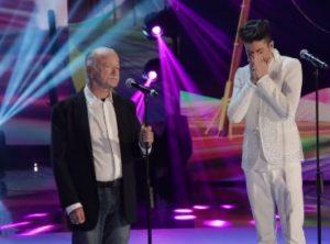 lele si commuove nel duetto con gino paoli nella semifinale di amici ottava puntata 18 maggio