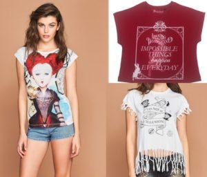 magliette zuiki collezione alice allo specchio