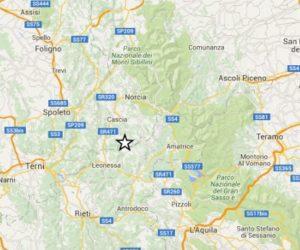 terremoto oggi umbria lazio rieti terni viterbo ora in tempo reale ultime scosse