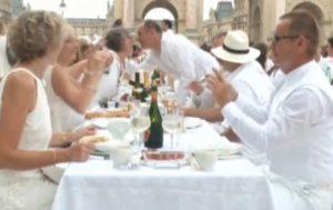 cena in bianco a monza 2 luglio 2016