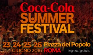 gli ospiti e cantanti del coca cola summer festival 2016
