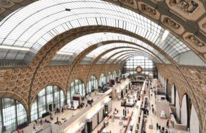 interno Musee d'Orsay Parigi