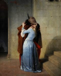 il bacio francesco hayez giornata mondiale del bacio world kiss day 6 luglio