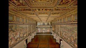 salone dei cinquecento palazzo vecchio firenze