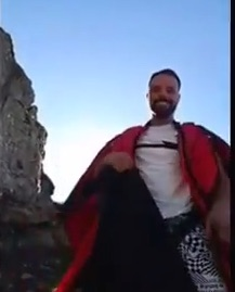 Armin Schmieder video della morte ultimo volo facebook