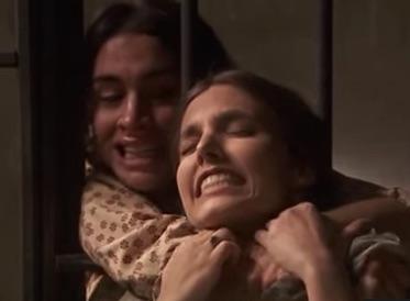ines strangolo amalia ma non la uccide ma lei muore in carcere mentre tenta di scappare
