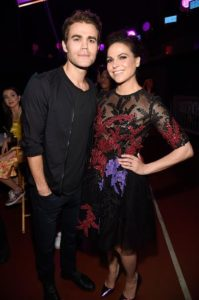 lana parrilla e paul wesly insieme a teen choice awards foto facebook