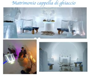 matrimonio capella di ghiaccio in filandia