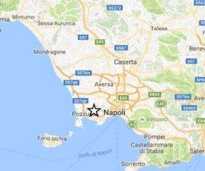 terremoto oggi a napoli in tempo reale scossa con epicentro in superfice