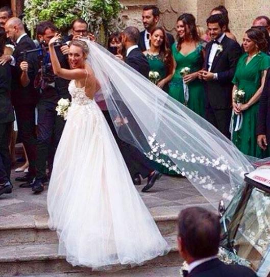 cristel carrisi abito da sposa