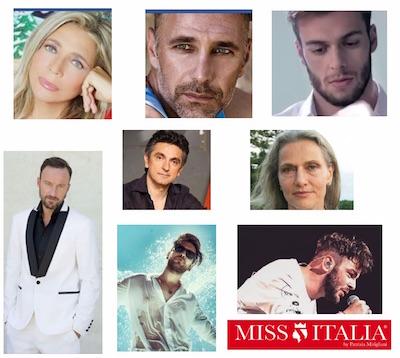 miss italia 2016 finale ospiti giuria mara venier alessio bernabei fragola raoul bova vincenzo salemme Anselma dallOlio Gregorio Paltrinieri