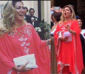 romina power caftano laura biagiotti matrimonio cristel carrisi