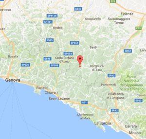 terremoto oggi in tempo reale vicino a parma emilia romagna borgo val di taro bendonia