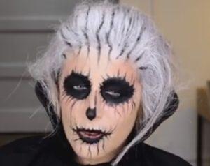 Trucco Halloween Semplice Di Clio Make Up Vi Basta Solo Leyeliner
