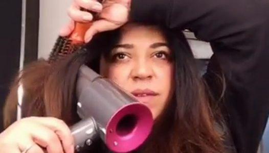 Cristina Isac nota make up artist pubblica un video su Instagram 2f95f85464e