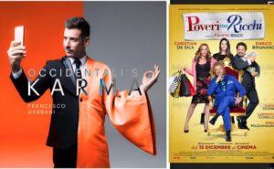 """Francesco Gabbani a Radio Deejay rivela: il mio album in ritardo perchè impegnato nel film di Brizzi, """"Poveri ma ricchi""""."""