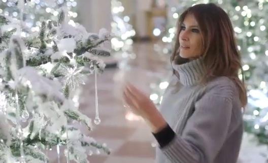 tendenze natale 2018 addobbi natalizi di cristallo ed