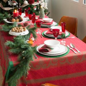 Decorazioni di natale e capodanno le tavole pi belle per for Tavole da pranzo