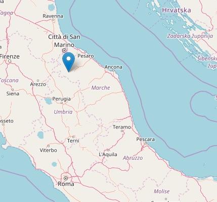 Esplosione in cava genera terremoto a 2 km a est di for Ingv lista terremoti di oggi