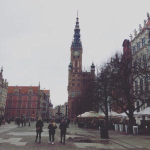 danzica/gdansk in inverno
