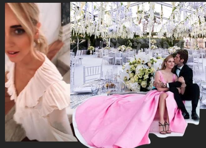 Matrimonio In Diretta Ferragnez : Matrimonio ferragnez abito da sposa stilisti location e