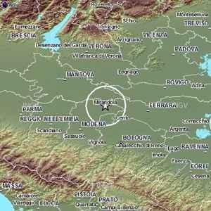 Terremoto Emilia Romagna Modena