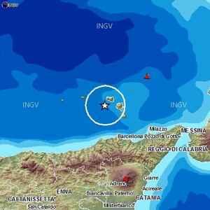 Terremoto Oggi Isole Lipari