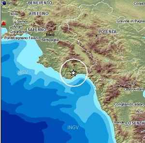 Terremoto Salerno Campania