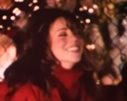 Merry Christmas Buon Natale Canzone più vista YouTube Mariah Carey  All I Want For Christmas Is You