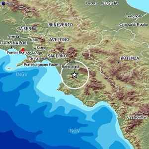 Terremoto Campania Salerno