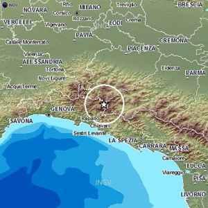 Terremoto Oggi Liguria Genova