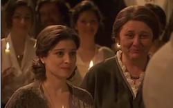 candela senza tristan al matrimonio di gonzalo e maria
