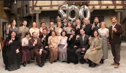 gli attori della telenovela il segreto a verissimo sabato 20 dicembre