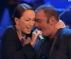 mango giuseppe e laura valente sanremo 2007 duetto da moglie e marito