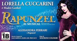 musical rapunzel con lorella cuccarini brancaccio roma biglietti ed orari